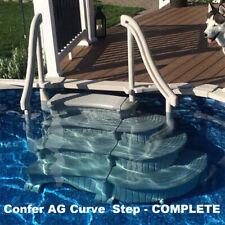 Confer Plastics Curve Above Ground Pool Step System
