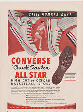 1960 MAGAZINE AD #00630 - CONVERSE SHOES - CHUCK TAYLOR - HIGH CUT or OXFORD