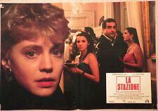 Fotobusta LA STAZIONE 1990 MARGHERITA BUY, SERGIO RUBINI, ENNIO FANTASTICHINI