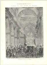 1890 Funeral Of Lord Napier Of Magdala Procession Nave