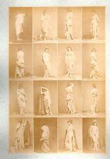 C28 Calavas photo étude pour peintre vintage albumen print albuminé nus Femme