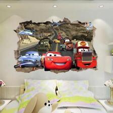 2017 3D lightning McQueen Cars Mater Mack Wall Sticker Kids Home Decor US Seller