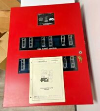 Fci Fc 72 12 12 Zone Fire Alarm Control Panel New Old Stock Complete Panel
