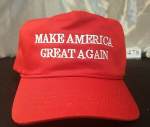 The Real MAGA Hat by Cali-Fame. Original Red # 478