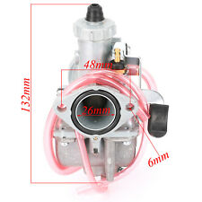 Mikuni vm22 26mm Carburetor Carby for 110cc 125cc 140cc Pit Dirt Bike ATV QUAD