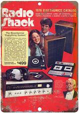 "10"" x 7""  Metal Sign - 1976 Radio Shack Catalog  - Vintage Look Reproduction"