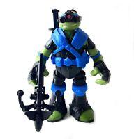 Stealth Tech Leonardo TMNT Teenage Mutant Ninja Turtles Figure Near Complete Leo