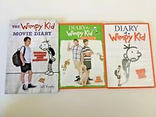The Wimpy Kid Movie Diary HC book + 2 DVD movies: Diary of a Wimpy Kid Dog Days