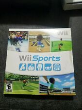 Wii Sports (Nintendo Wii, 2006) Complete Game with Manual & Sleeve Tested Works