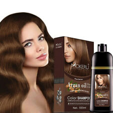 500ml Permanent Hair Color Shampoo Natural Herbal Shampoo Hair Dye Hair Color