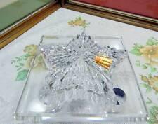 KATHARINEN HUTTE Deutschland Bleikristall Star Form 11.1cm mit Deckel Kasten Box