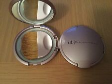 ID BARE ESCENTUALS COMPACT for powder minerals blush  sifter, mirror + BRUSH new