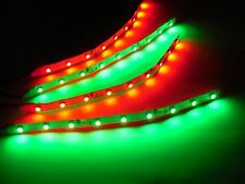 Traxxas Hpi Green and Red Underbody glow LED Strip Lights Superbright FPV  6""