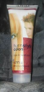 KMS Turnstylr Style In & Wash Out TEMPORARY Hair Color ~ RED RAGE~ 1.7 oz.!!