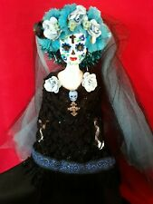 Katrina day of the dead muertos ofrenda Ooak Barbie Doll
