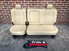 99-10 Ford F-250/F-350 Superduty Lariat Rear Leather 60/40 Bench Seat, Tan