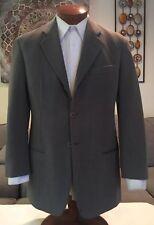 Giorgio Armani Black Label Olive 3 Btn Wool Blend Blazer Sz 38 R MINT!