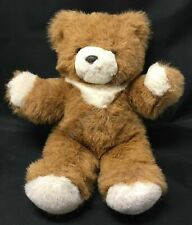"14"" Princess Soft Toys Brown & White Teddy Bear Plush Lovey"
