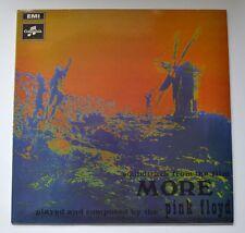 PINK FLOYD MORE SOUNDTRACK VINYL LP HARVEST SCX 6346 1969 UK -3/1G NrM/EX