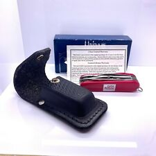 Alpine Swiss Design Award Multi Tool Clock Knife Farm Bureau KNIFE w/ Box Sheath