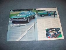 1969 Yenko 427 Nova Article L-72 SYC Big-Block Chevy