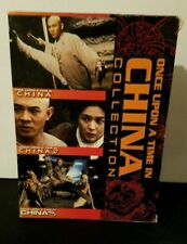 Once Upon a Time in China 1, 2  3 (DVD, 2001, 3-Disc Set)|Pre Owned|Tested|RARE