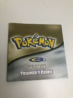 Pokemon Trainer's Guide Gold Version Manual Only Nintendo Game Boy Color GBC