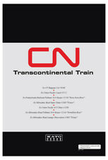 N Kato 106-102 Canadian National CN Transcontinental Train 7 Car SET  NEW