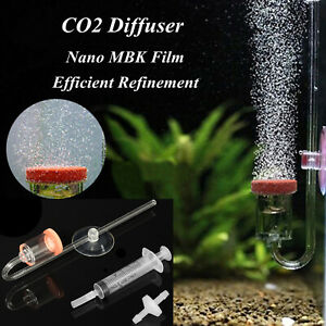 4 in 1 U Shape Tube Valve CO2 Diffuser Bubble Counter Fish Plant Tank Aquarium