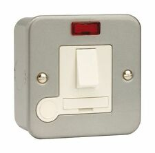 Metal Clad Switched Fused Spur Connection Unit | With Neon