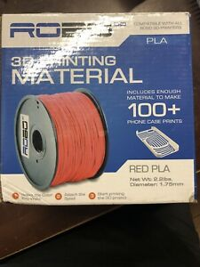 ROBO 3D Printing Material Red PLA 1.75 mm 2.2 Lbs