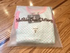 Matilda Jane Jump Rope Tunic Girls Size 2 Toddler / Mint Green & Pink Polka-Dots
