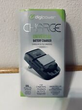 Digipower Universal Battery Charger For Cameras, Phones And Toys