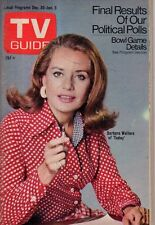 1972 TV Guide December 30 Barbara Walters; Sally Struthers; James Wainwright;