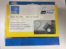 +++ ESU 64618 LokPilot V4.0 M4 MKL, Multiprotokoll MM/DCC/SX/M4, 21MTC MKL