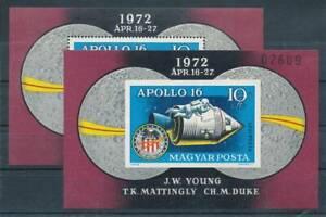 186794) Ungarn Block 93A+B** Raumfahrt