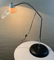 Vintage Mid Century Modern Retro Magnifying Industrial Age Big Eye Floor Lamp.