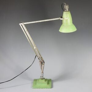 All Original Herbert Terry 1227 Anglepoise Lamp With Three 3 Step Base 1936-38