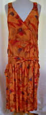 Nicole Miller Tropical Bold Print SUN DRES Limited Release & Design Full Size 8