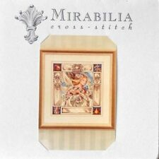 "#MD-10 MIRABILIA ""ELIZABETH AND THE LAVENDER SKY"" COUNTED CROSS STITCH CHART NIP"