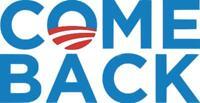 Come Back Obama Vinyl Decal Sticker Anti Trump Fascism Truck Laptop Funny