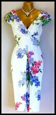 """GORGEOUS PHASE EIGHT SIZE 16 """"LILAC FLOWER"""" DRESS RRP £140.00 NEW WITH TAGS"""