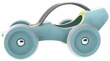 Hape Bamboo Blue Rare e-Racer Le Mans Car Toy Made in SWITZERLAND