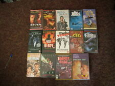 Vintage VHS tapes various titles