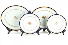 Collection Of Four Large Antique Chinese Export  Plates & Platters, 18th C.