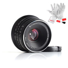 7artisans 25mm F1.8 Manual Focus Prime Fixed Lens for Sony Emount+ Cleaning Kitc