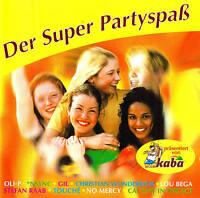 "DER SUPER PARTYSPAß  ""Top Partyhits / Top Fetenhits!"" CD NEU & OVP BMG 2000"