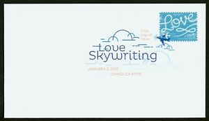 #5155 Love: Skywriting, Digital Color FDC **ANY 5=FREE SHIPPING**