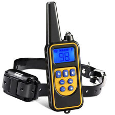 Dog Training Shock Electric Collar With LCD Remote Waterproof for Large Yard FO