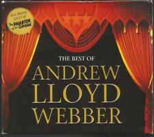 BEST OF ANDREW LLOYD WEBBER - 2 CDs + DVD OF1925 MOVIE PHANTOM OF THE OPERA